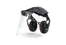 Gehörschutz mit Plexiglasvisier Husqvarna
