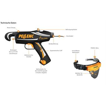 Pellenc Fixion Rebbindegerät