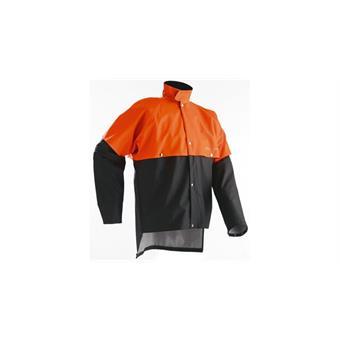 Regenjacke Husqvarna 50/52 M orange/grau